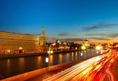 Kremlin embankment — Stockfoto