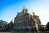 Spas-na-krovi cathedral, St.Petersburg, Russia. — Stock Photo