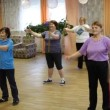 Fitness training for elderly and disabled — Stock Video