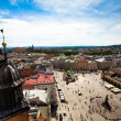 Stock Photo: View of old town of Kracow