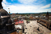 View of the old town of Kracow — Stock Photo