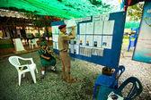 Eleições para prefeito, na ilha de koh chang — Foto Stock