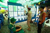 Mayoral verkiezingen op koh chang eiland — Stockfoto