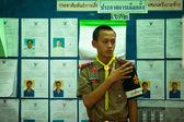 Koh chang adası belediye başkanlığı seçimleri — Stok fotoğraf