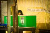 Bürgermeisterwahlen auf der insel koh chang — Stockfoto