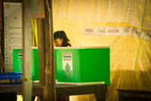 Mayoral elections on Koh Chang island — Stock Photo