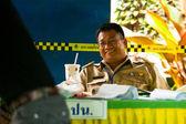 élections municipales sur l'île de koh chang — Photo