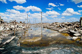 Epecuen (Dead City), Argentina — Stock Photo