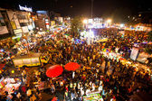 CHIANGMAI,THAILAND - DEC 31: gathered in the city center on the countdown during the New Year celebrations — Photo