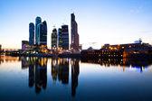Moskova uluslararası i̇ş merkezi, moskova şehir — Stok fotoğraf