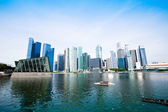 The business district of Singapore — Stock Photo