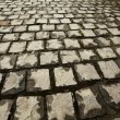 Cobblestone. Paving stones texture. - Stock Photo