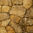 Stone wall, square texture — Stock Photo