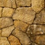 Stone wall, square texture — Stock Photo