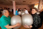 Podporozhye, rusya - 5 temmuz: emekliler ve engelliler otrada sosyal hizmetler merkezinde sağlık günü. — Stok fotoğraf