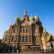 ST.PETERSBURG, RUSSIA - MAY 21: Church of Savior on Spilled Blood in May 21, 2012 in St.Petersburg, Russia. - Stok fotoğraf