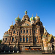 ST.PETERSBURG, RUSSIA - MAY 21: Church of Savior on Spilled Blood in May 21, 2012 in St.Petersburg, Russia. — Stock Photo