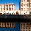 ST.PETERSBURG, RUSSIA - MAY 21: Griboyedov Canal Embankment, May 21, 2012 in St.Petersburg, Russia. — Foto de Stock