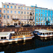 ST.PETERSBURG, RUSSIA - MAY 21: Griboyedov Canal Embankment, May 21, 2012 in St.Petersburg, Russia. — Photo
