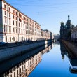 ST.PETERBURG, RUSSIA - MAY 21 Griboedov Canal Embankment, May 21, 2012 — Stock Photo #19545231