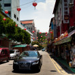 SINGAPORE - APRIL 16: Street scene in Singapore's Chinatown on April 16, 2012 in Singapore. — Stock Photo #19683017