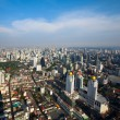 BANGKOK, THAILAND - APRIL 29. Panorama view over Bangkok on April 29, 2012 in Bangkok, Thailand. — Lizenzfreies Foto