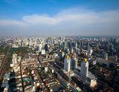 BANGKOK, THAILAND - APRIL 29. Panorama view over Bangkok on April 29, 2012 in Bangkok, Thailand. — Stock Photo