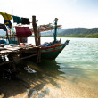 KO CHANG, THAILAND - JAN 31: Boats in the Salakphet fishing village, Jan 31, 2013 on Ko Chang, Thailand. — ストック写真