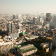 BANGKOK, THAILAND - JANUARY 19. Panorama view over Bangkok on January 19, 2013 in Bangkok, Thailand. — Stock Photo