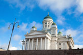 Cathedral on Senate Square. Helsinki. Finland. — Stock Photo