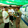 Stock Photo: KO CHANG, THAILAND - NOVEMBER 18: Unidentified participate at local Ko Chang Elections