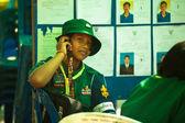 KO CHANG, THAILAND - NOVEMBER 18: Unidentified participate at local Ko Chang Elections — Stock Photo