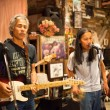 KO CHANG-TRAT, THAILAND - FEBRUARY 10: Thai blues band Stone Free performing in a night club Sticky Rice Blues - Stock Photo