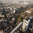 BANGKOK, THAILAND - APRIL 29. Panorama view over Bangkok on April 29, 2012 in Bangkok, Thailand — Stock Photo