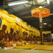 Ceremony Wat Klong Prao monastery after Chang Buddha festival — 图库照片