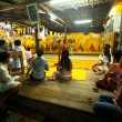 Stock Photo: Ceremony Wat Klong Prao monastery after Chang Buddhfestival