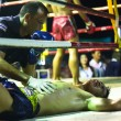CHANG, THAILAND - FEB 22: Unidentified Muaythai fighters in the ring, Feb 22, 2013 on Chang, Thailand. — Stockfoto