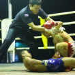 CHANG, THAILAND - FEB 22: Unidentified Muay Thai fighters compete in an amateur kickboxing match, Feb 22, 2013 on Chang, Thailand — Foto Stock