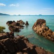 Reefs on the seacoast of Thailand - Stock Photo