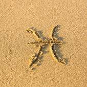 Zodiac sign Pisces — Stock Photo
