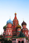St Basil's Cathedral in Red Square on Moscow, Russia — Stock Photo