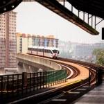 Monorail train in Kuala Lumpur, Malaysia — Stock Photo #23445148