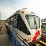 Monorail train in Kuala Lumpur, Malaysia — Stock Photo #23445610