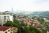 Panorama of Bangsar district in Kuala Lumpur — Stock Photo
