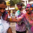 Stock Photo: KUALLUMPUR, MALAYSI- MAR 31: celebrated Holi Festival of Colors, Mar 31, 2013 in KualLumpur, Malaysia. Holi, marks arrival of spring, being one of biggest festivals in Asia.