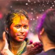 KUALA LUMPUR, MALAYSIA - MAR 31: celebrated Holi Festival of Colors, Mar 31, 2013 in Kuala Lumpur, Malaysia. Holi, marks the arrival of spring, being one of the biggest festivals in Asia. — Stock Photo #24616491
