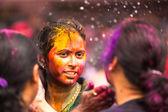 Kuala lumpur, malasia - 31 de marzo: se celebra el festival de holi de colores, 31 de marzo 2013 en kuala lumpur, malasia. holi, que marca la llegada de la primavera, siendo uno de los mayores festivales de asia. — Foto de Stock