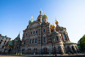 ST.PETERSBURG, RUSSIA - MAY 21: Church of Savior on Spilled Blood in May 21, 2012 in St.Petersburg, Russia. — Stock Photo