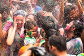 KUALA LUMPUR, MALAYSIA - MAR 31: celebrated Holi Festival of Colors, Mar 31, 2013 in Kuala Lumpur, Malaysia. Holi, marks the arrival of spring, being one of the biggest festivals in Asia. — Photo