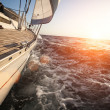 Stock Photo: Sailing in Greece